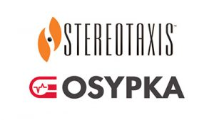 Stereotaxis and Osypka Logos
